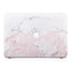 Macbook Premium Case - Pink Marble