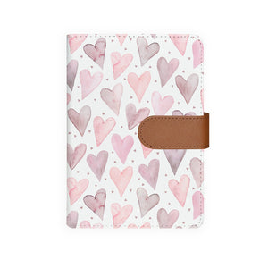 front view of personalized personal organiser with Love design