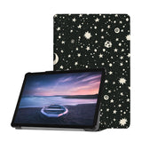 Personalized Samsung Galaxy Tab Case with Space design provides screen protection during transit