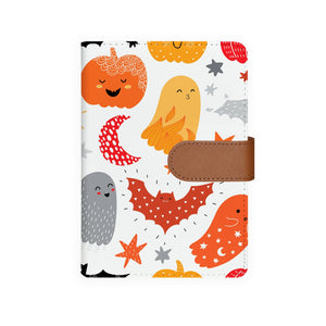 front view of personalized personal organiser with Halloween design