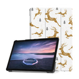 Personalized Samsung Galaxy Tab Case with Christmas design provides screen protection during transit
