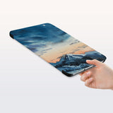 a hand is holding the Personalized Samsung Galaxy Tab Case with Landscape design