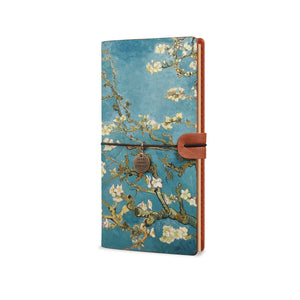 Traveler's Notebook - Oil Painting-the side view of midori style traveler's notebook - swap