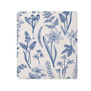 the Front View of Personalized Kindle Oasis Case with Flower design - swap