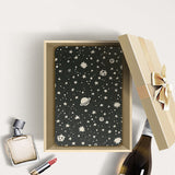 Personalized Samsung Galaxy Tab Case with Space design in a gift box