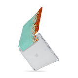 iPad SeeThru Casd with Rusted Metal Design  Drop-tested by 3rd party labs to ensure 4-feet drop protection