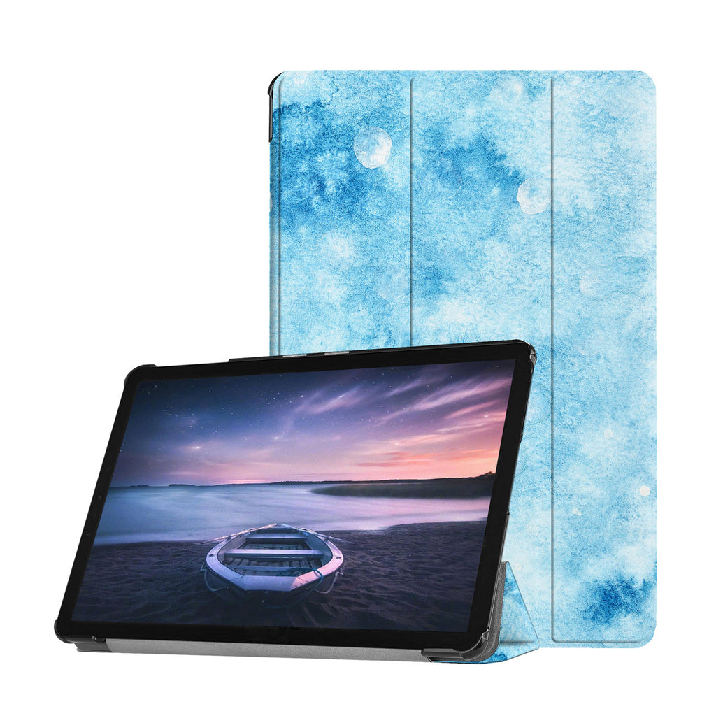 Personalized Samsung Galaxy Tab Case with Winter design provides screen protection during transit