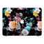 Macbook Premium Case - Black Flower