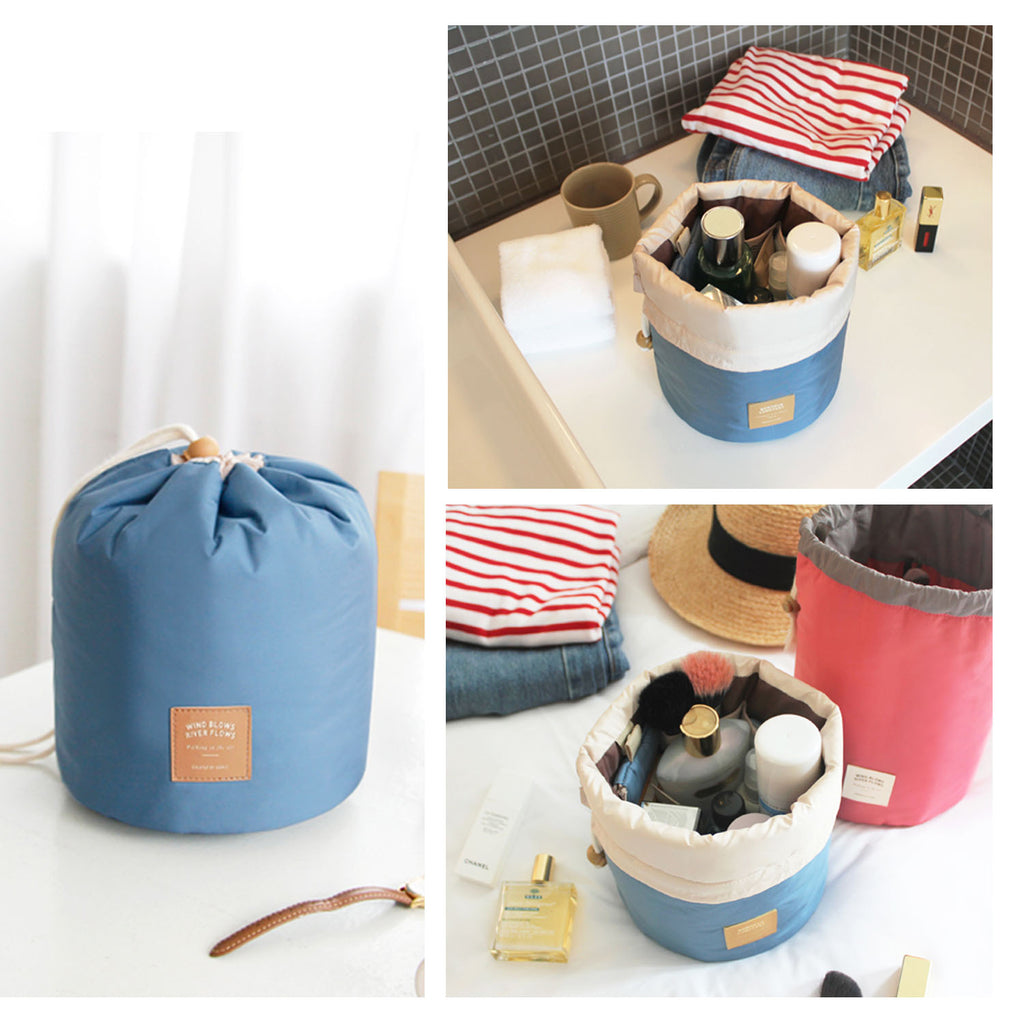 Portable Makeup Bag - Blue