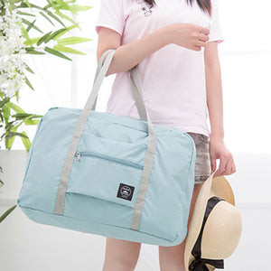 Premium Foldable Travel Bag - Blue