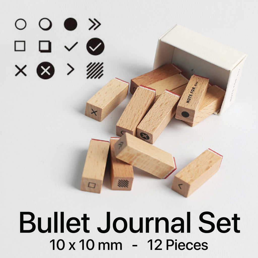 wooden rubber stamp - plan – the journal shop