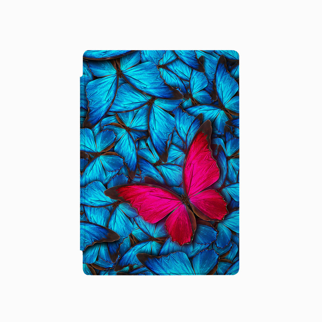 the front side of Personalized Microsoft Surface Pro and Go Case with Butterfly design