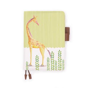 the front view of papermarker's diary with Cute Animal 2 pattern