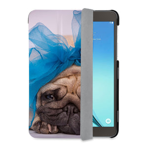 auto on off function of Personalized Samsung Galaxy Tab Case with Dog design - swap