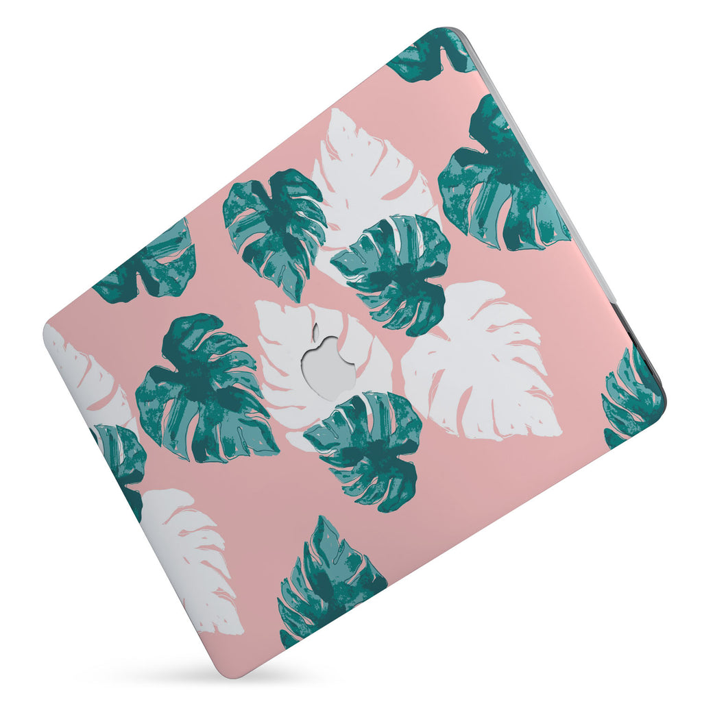 Protect your macbook  with the #1 best-selling hardshell case with Pink Flower 2 design