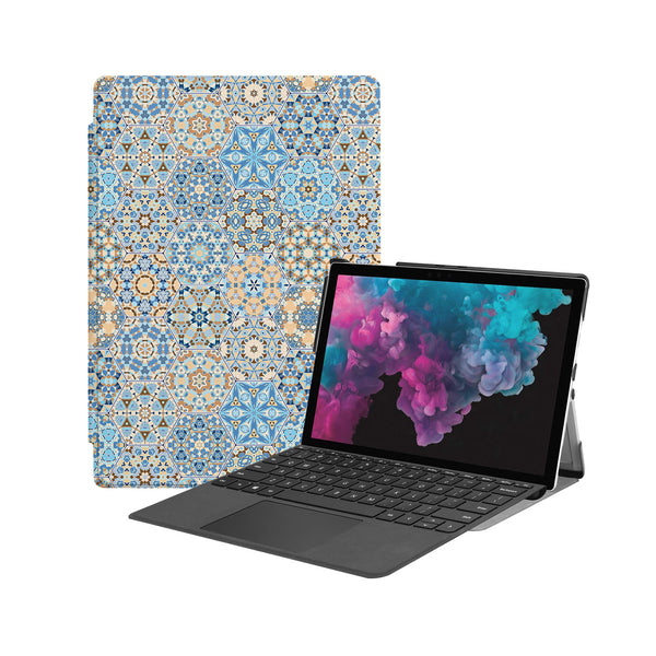 the Hero Image of Personalized Microsoft Surface Pro and Go Case with Zen design