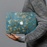 hardshell case with Oil Painting design combines a sleek hardshell design with vibrant colors for stylish protection against scratches, dents, and bumps for your Macbook