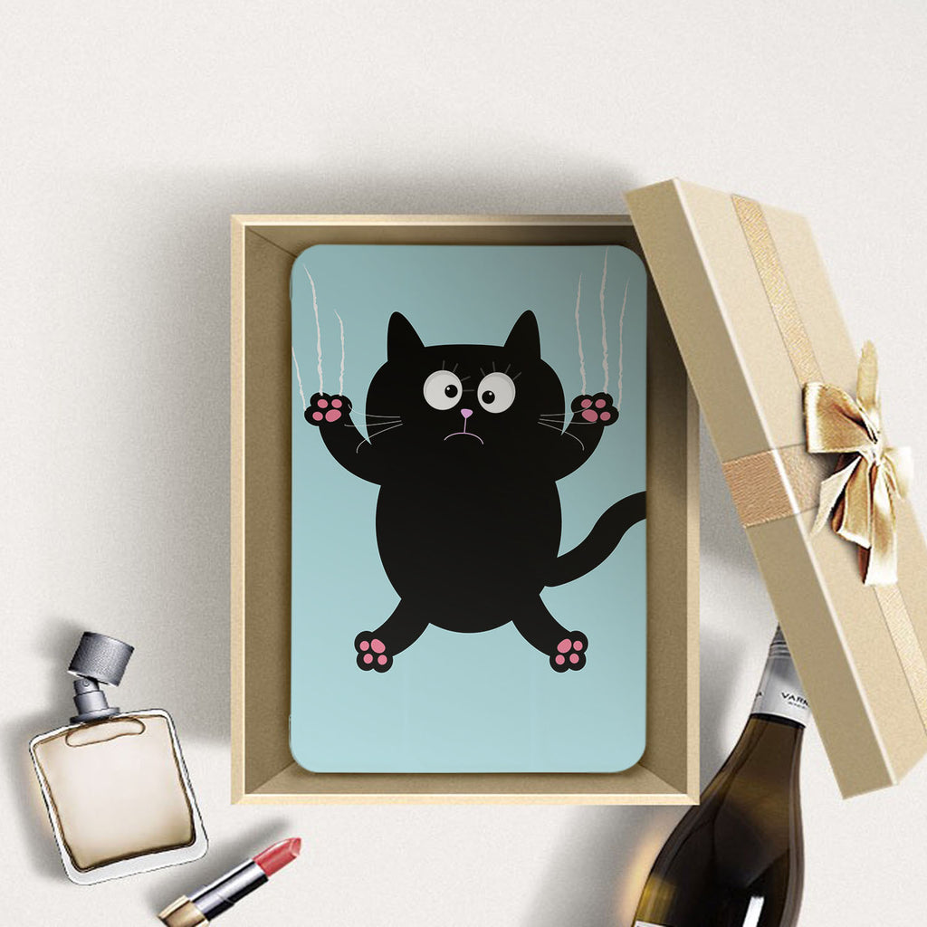 Personalized Samsung Galaxy Tab Case with Cat Kitty design in a gift box