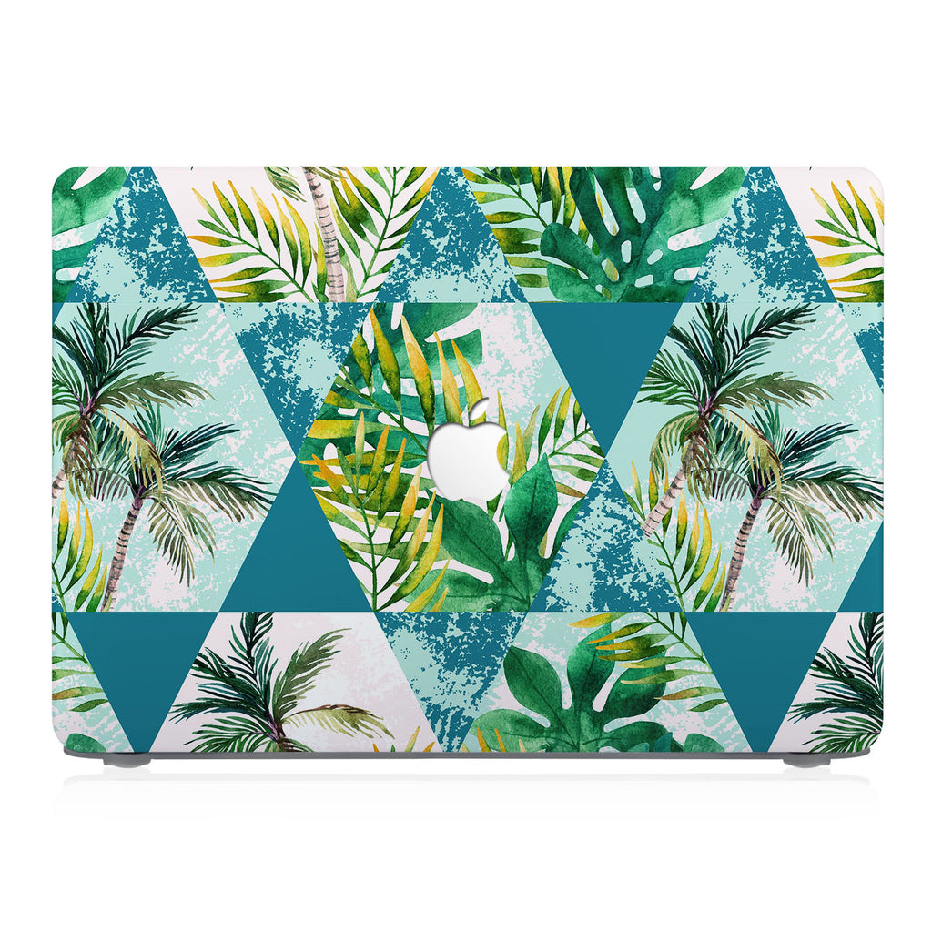 This lightweight, slim hardshell with Tropical Leaves design is easy to install and fits closely to protect against scratches