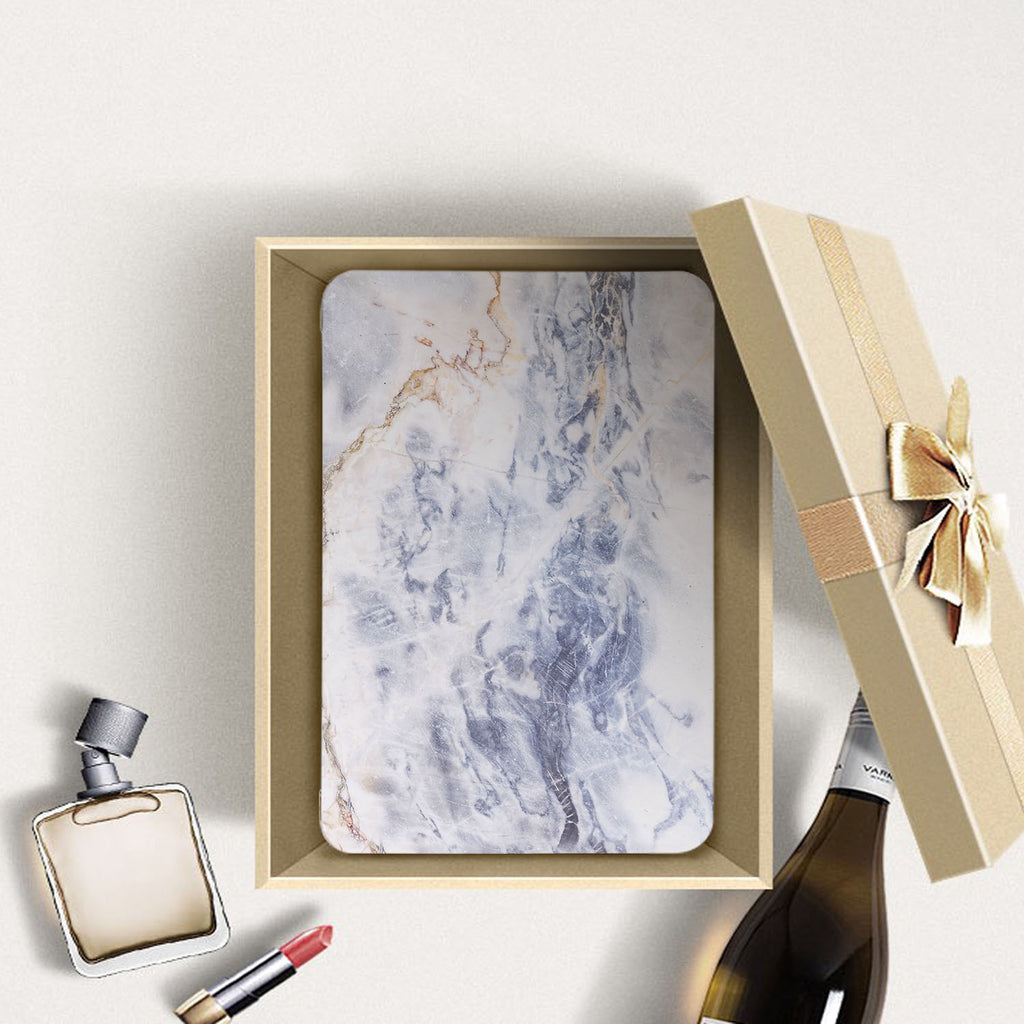 Personalized Samsung Galaxy Tab Case with Marble design in a gift box