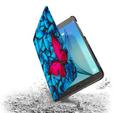 the drop protection feature of Personalized Samsung Galaxy Tab Case with Butterfly design