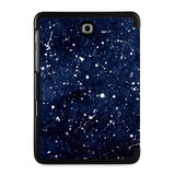 the back view of Personalized Samsung Galaxy Tab Case with Galaxy Universe design