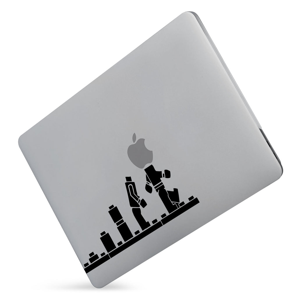 Protect your macbook  with the #1 best-selling hardshell case with Brick Man design