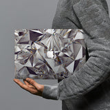 hardshell case with Crystal Diamond design combines a sleek hardshell design with vibrant colors for stylish protection against scratches, dents, and bumps for your Macbook