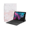 the Hero Image of Personalized Microsoft Surface Pro and Go Case with Pink Marble design