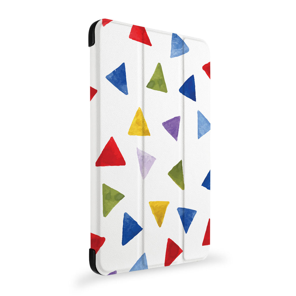 the side view of Personalized Samsung Galaxy Tab Case with Geometry Pattern design