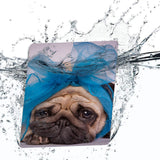 Water-safe fabric cover complements your Kindle Oasis Case with Dog design