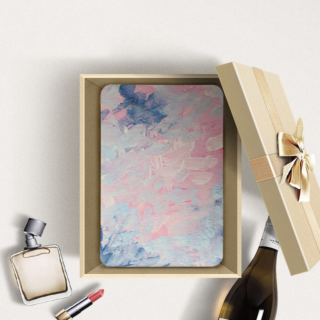 Personalized Samsung Galaxy Tab Case with Oil Painting Abstract design in a gift box