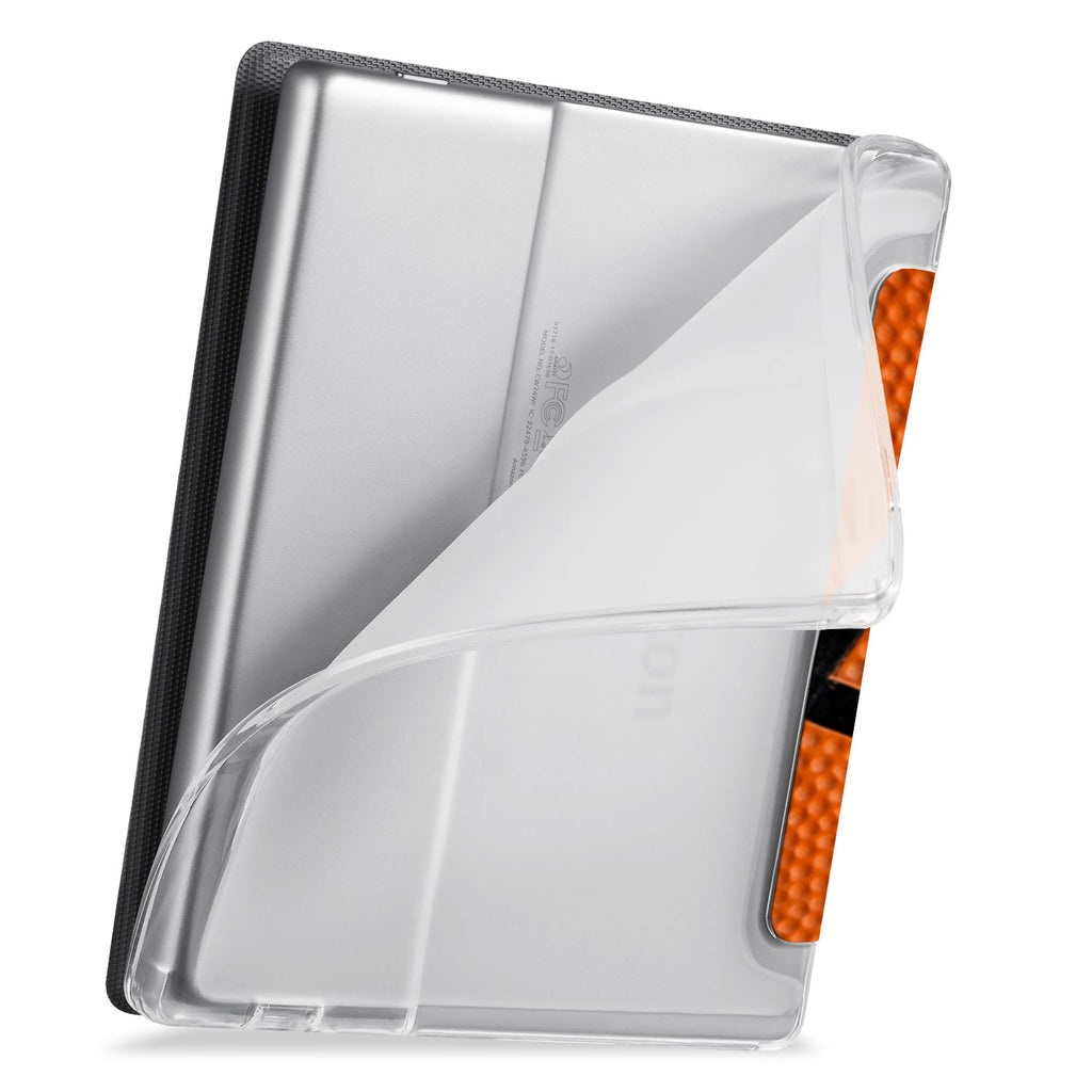 flexible back TPU cover of Personalized Kindle Oasis Case with Sport design