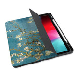 personalized iPad case with pencil holder and Oil Painting design