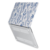 hardshell case with Flower design has rubberized feet that keeps your MacBook from sliding on smooth surfaces