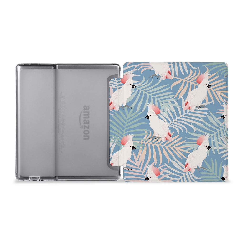 The whole view of Personalized Kindle Oasis Case with Bird design