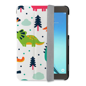 auto on off function of Personalized Samsung Galaxy Tab Case with Dinosaur design - swap