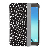 auto on off function of Personalized Samsung Galaxy Tab Case with Polka Dot design - swap