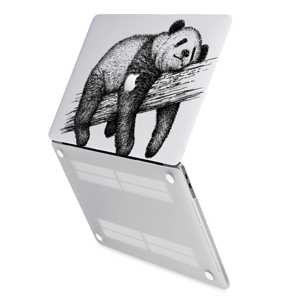 hardshell case with Cute Animal design has rubberized feet that keeps your MacBook from sliding on smooth surfaces