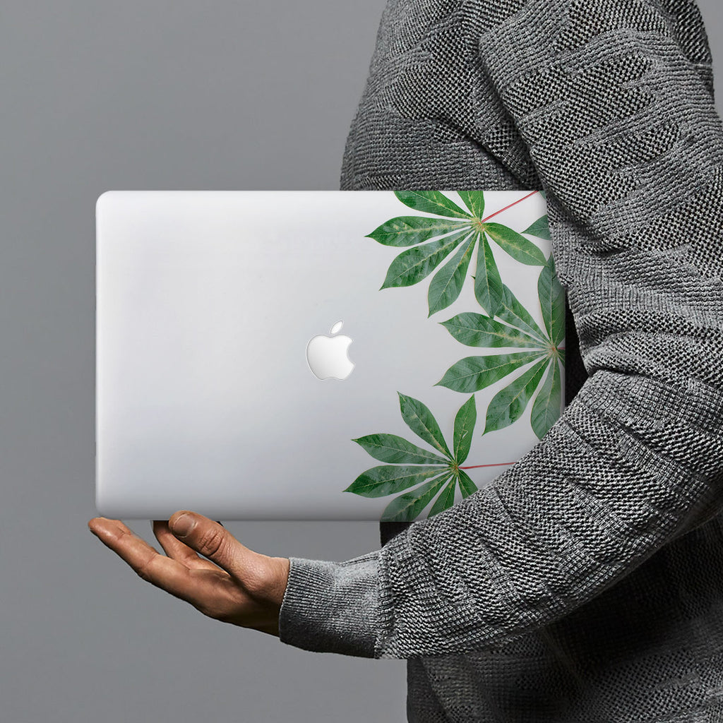 hardshell case with Flat Flower design combines a sleek hardshell design with vibrant colors for stylish protection against scratches, dents, and bumps for your Macbook