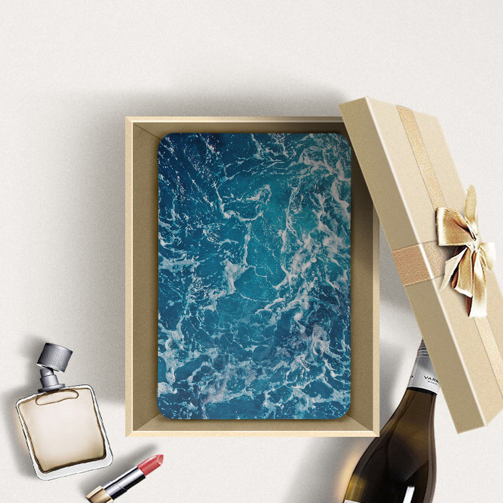 Personalized Samsung Galaxy Tab Case with Ocean design in a gift box