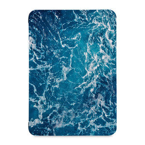 the front view of Personalized Samsung Galaxy Tab Case with Ocean design