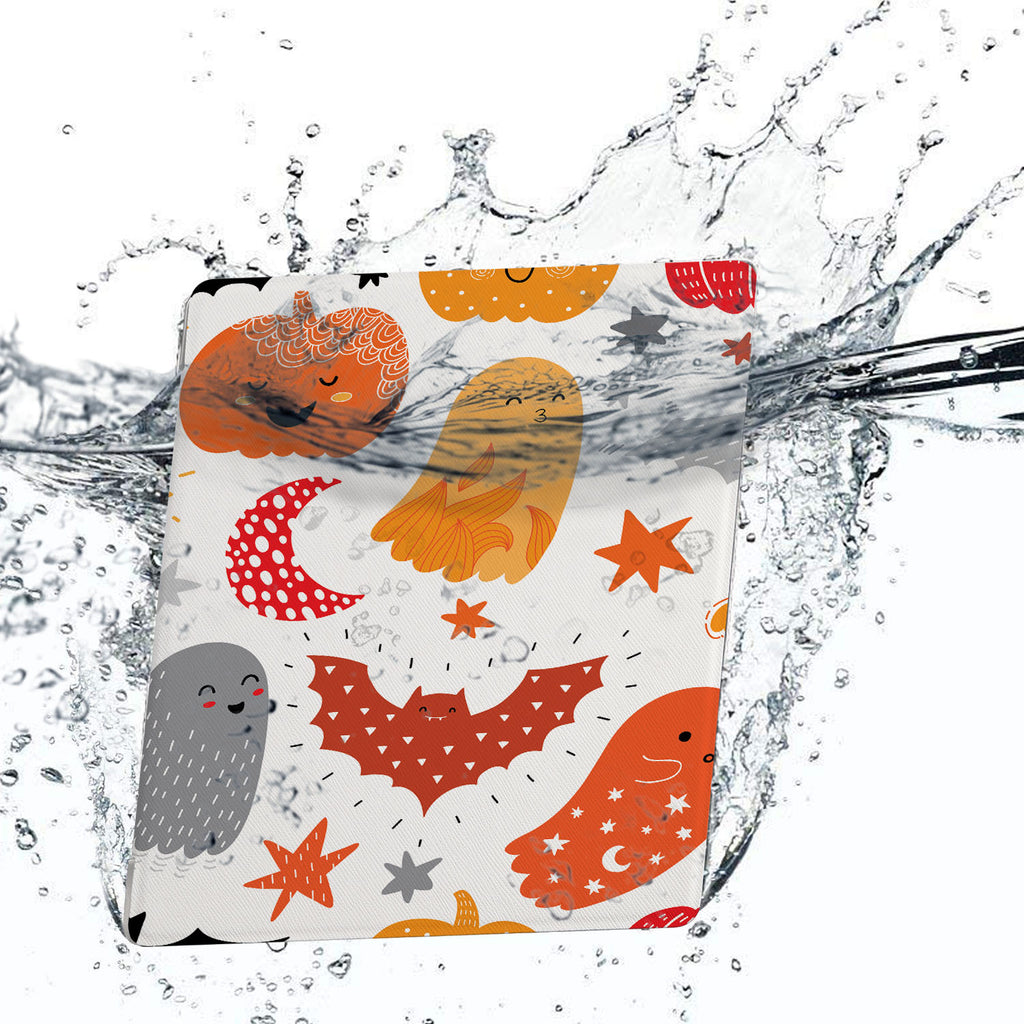 Water-safe fabric cover complements your Kindle Oasis Case with Halloween design