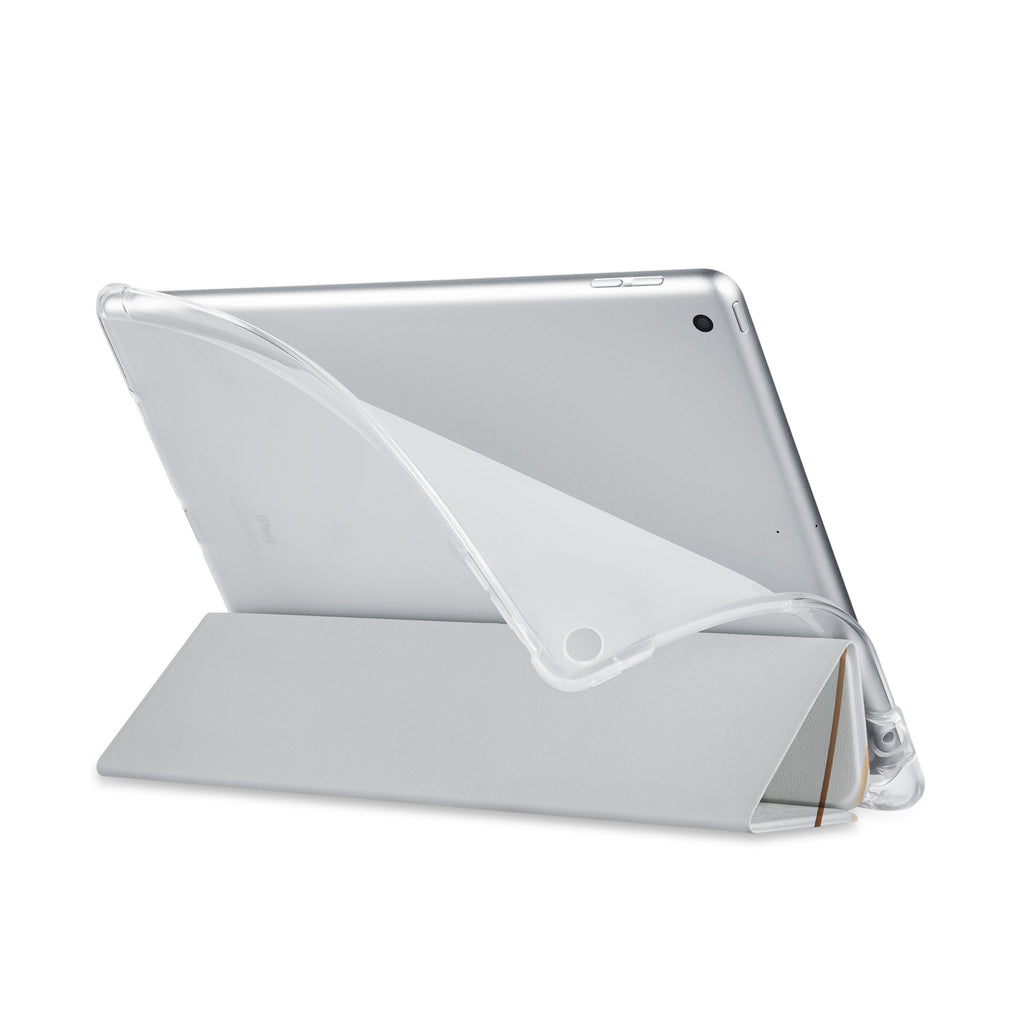 Balance iPad SeeThru Casd with Luxury Design has a soft edge-to-edge liner that guards your iPad against scratches.