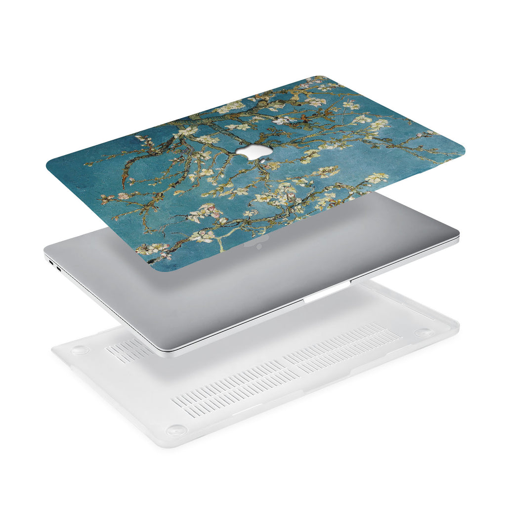 Ultra-thin and lightweight two-piece hardshell case with Oil Painting design is easy to apply and remove - swap