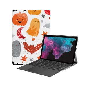 the Hero Image of Personalized Microsoft Surface Pro and Go Case with Halloween design