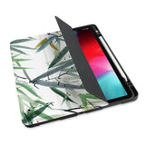 personalized iPad case with pencil holder and Japanese design