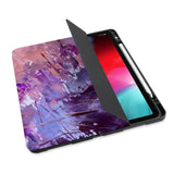 personalized iPad case with pencil holder and Abstract Painting 2 design