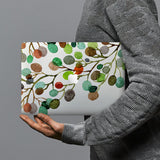 hardshell case with Leaves design combines a sleek hardshell design with vibrant colors for stylish protection against scratches, dents, and bumps for your Macbook