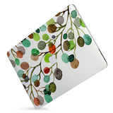 Protect your macbook  with the #1 best-selling hardshell case with Leaves design